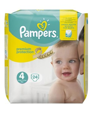pampers premium protection